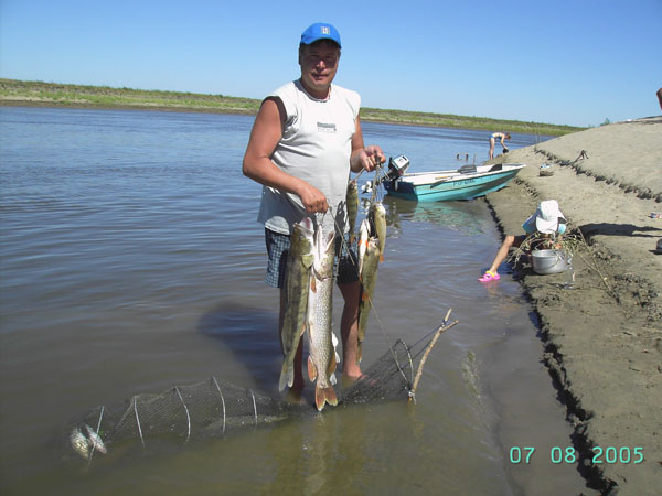 рыбалка на булю